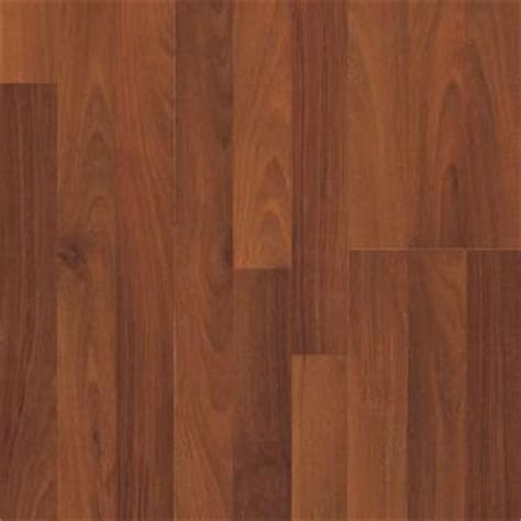 pergo presto spiced walnut laminate flooring 5 in x 7