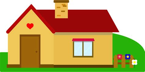 house online free to use public domain houses clip art
