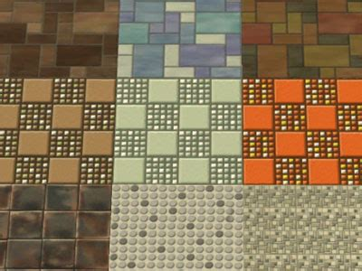 Srikandi Set 5 mod the sims kitchen and bath tile match set 1