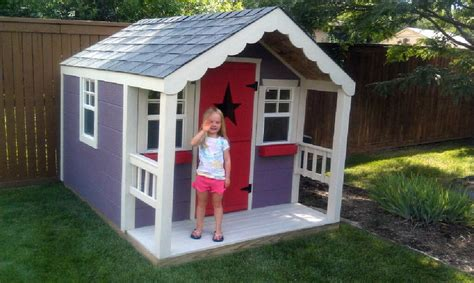 Playhouse Windows And Doors Ideas Childrens Playhouse Designs