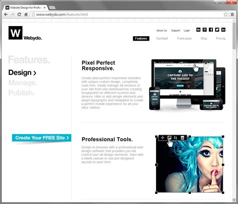 web layout online tool 10 graphic web design tools that will explode in 2015