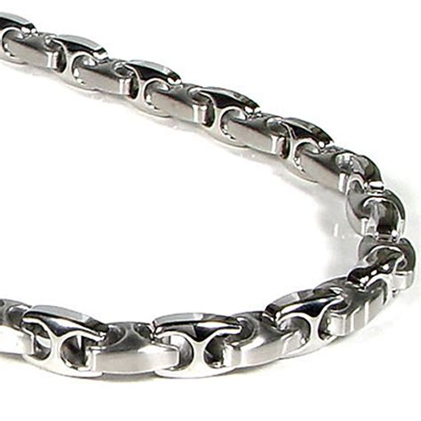 Gelang Gucci Titanium nitrogen stainless steel s link necklace chain