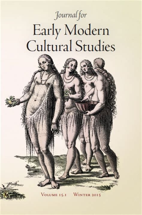 a social and cultural history of early modern journal for early modern cultural studies