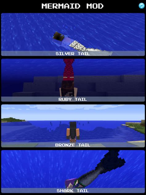 x mod game download for ipad app shopper mermaid mod for minecraft game pc edition