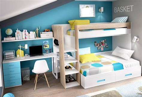 Bunk Bed With Storage And Desk Rimobel Contemporary Bunk Bed With Bed Storage And Desk