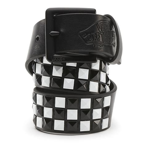 boys vans studded leather belt shop boys belts at vans