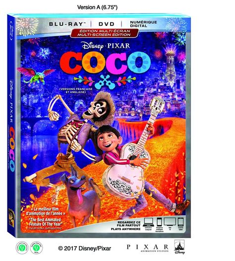 coco blu ray enter to win a copy of disney pixar s coco on dvd blu