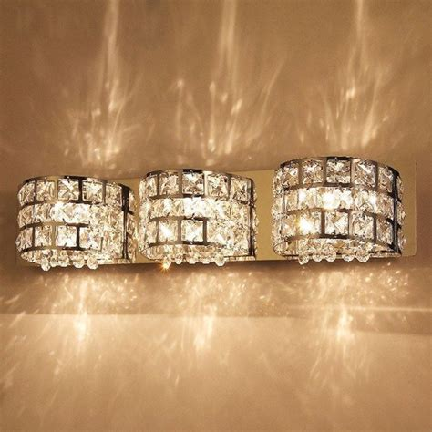 crystal bathroom sconce lighting best 25 crystal bathroom lighting ideas on pinterest