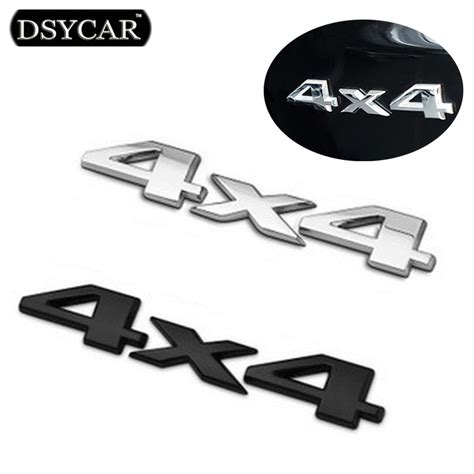 Emblem 4 Wheel Drive dsycar 3d 4x4 four wheel drive car sticker logo emblem badge car styling for fiat bmw ford honda