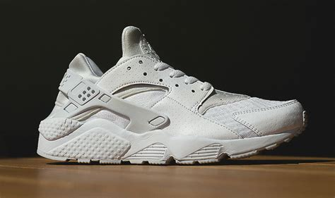 new nike air huarache white platinum sneaker release