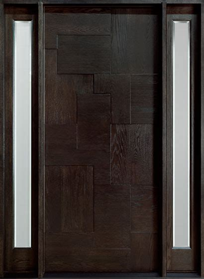 Entry Doors With Sidelites by Front Door Custom Single With 2 Sidelites Solid Wood