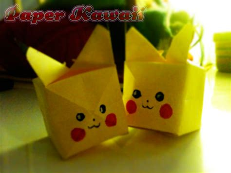 How To Make An Origami Pikachu - paper origami pikachu images images