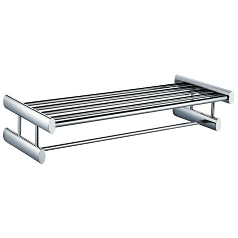 soho towel shelf and towel rail 600mm leigh plumbing