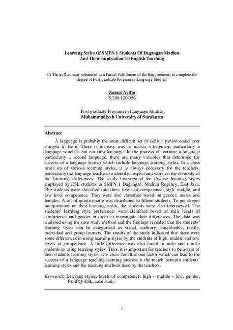 thesis about language education dissertation implications practice