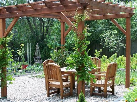 Backyard Arbors Ideas by 40 Pergola Design Ideas Turn Your Garden Into A Peaceful