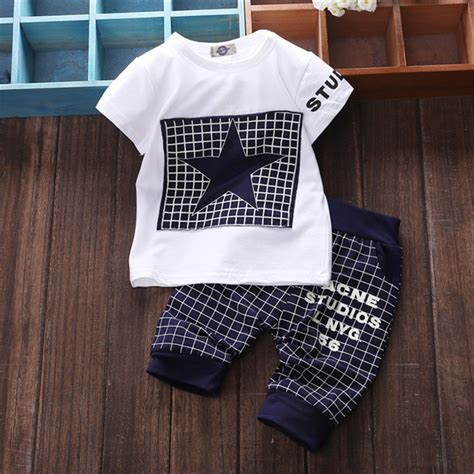 Ccs Baby Set baby boy clothes 2018 brand summer clothes sets t