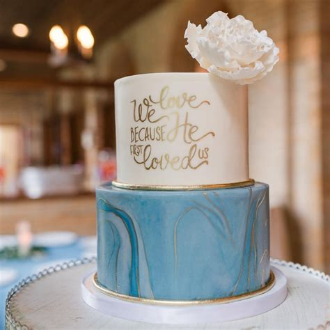 Wedding Cake Blue by Wedding Cakes Blue Lace Cakes