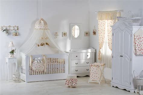 Classic Nursery Decor Vintage Baby Room Photo