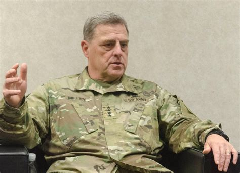 mark a milley scam army chief russia threat demands review of europe force