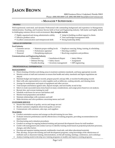 maintenance manager resume sample page 1 resume writing tips