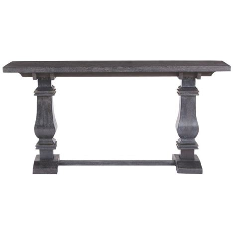 home decorators console table home decorators collection aldridge washed black console