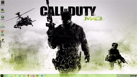 download theme windows 7 call of duty modern warfare 3 call of duty modern warfare 3 windows 7 theme by yonited