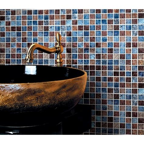 cheap glass tiles for kitchen backsplashes glossy glass tile backsplash ideas bathroom mosaic sheets