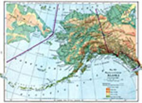 physical map of alaska maps of alaska