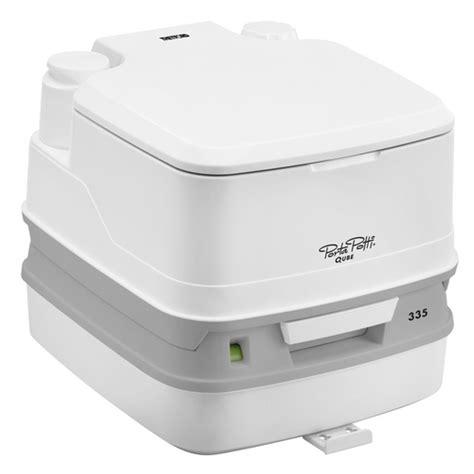 thetford porta potti qube 335 portable toilet with hold
