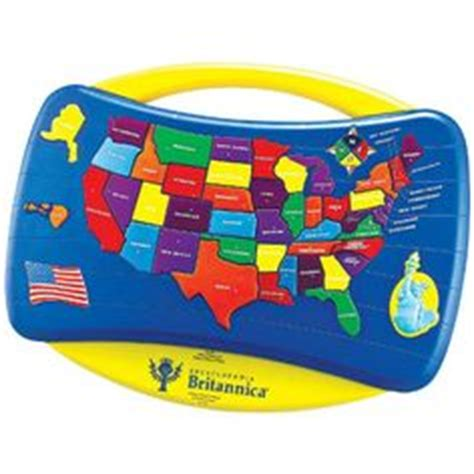 encyclopedia britannica talking usa map puzzle learning aid 2 geography america on us geography 50
