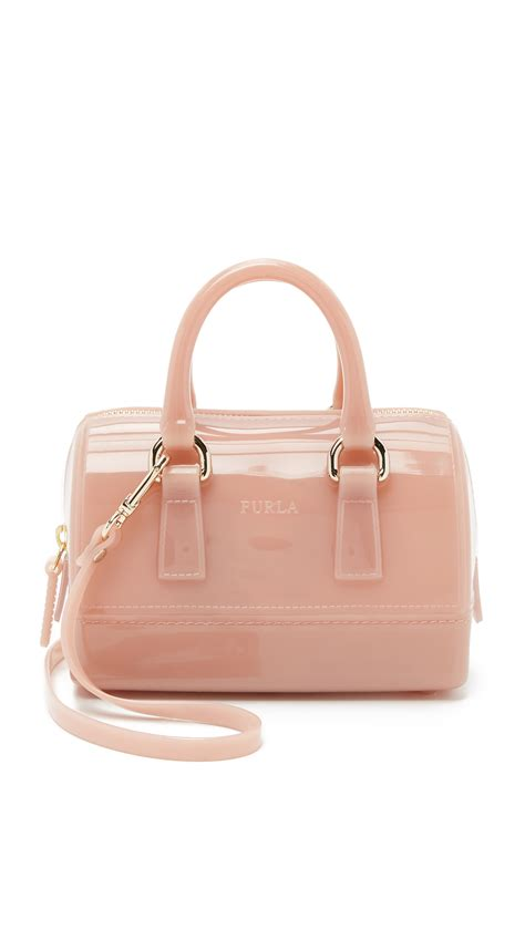 Mini Dress Furla lyst furla sweetie mini bag moonstone in