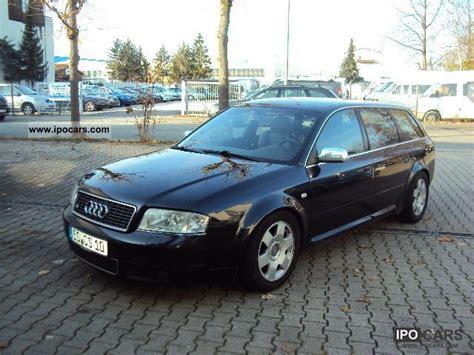 Audi S6 2000 by 2000 Audi S6 Avant 4 2 Quattro Car Photo And Specs