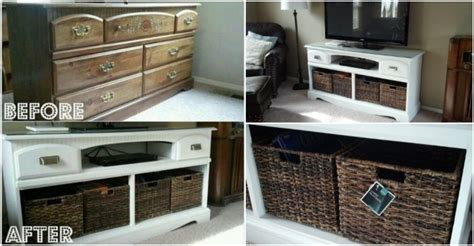 How To Turn Dresser Into Entertainment Center by How To Turn A Dresser Into An Entertainment Center How