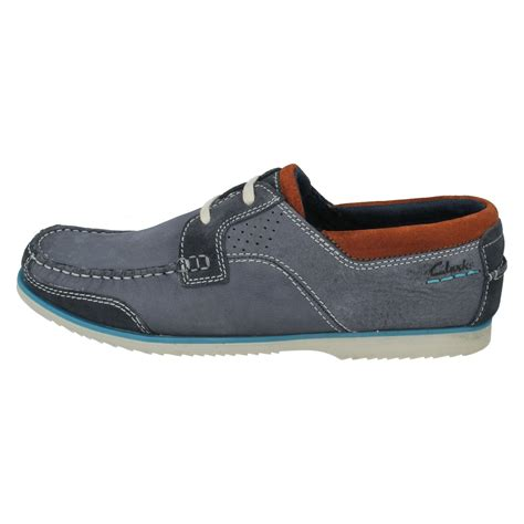 W Fashion Shoes 089 3 mens clarks boat shoes style kendrick sail w ebay