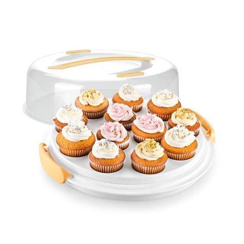 porta muffin 630848 porta muffin basso linea delicia tescoma