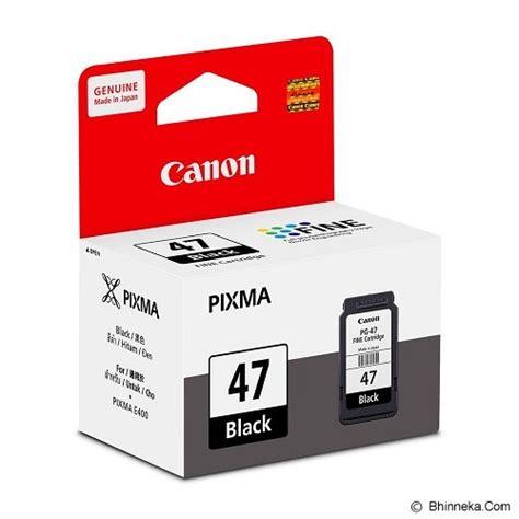 Hp Tinta Cartridge 21 Black Diskon jual canon black ink cartridge pg47 murah bhinneka
