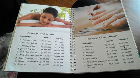 Harga Pedicure Di Salon by Daftar Harga Perawatan Tewink Salon Muslimah Depok Let