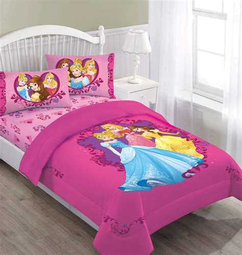 princess bed set disney princess gateway to dreams bedding comforter set with fitted sheet