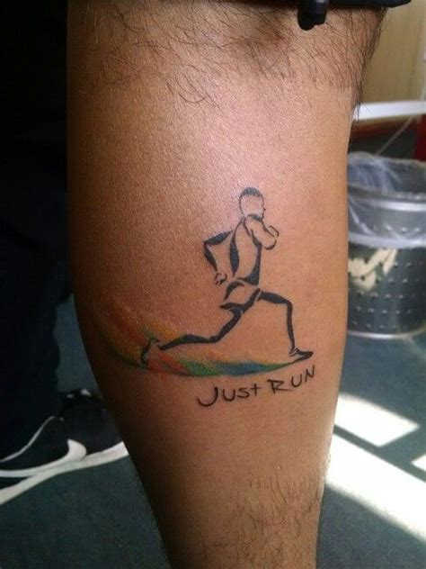 tattoo ink running tattoo runner mis tatuajes pinterest runners and