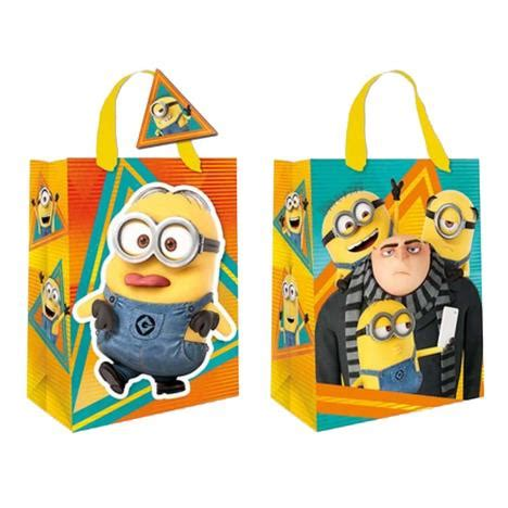 Airval International Minions Pouch Gift Set medium despicable me gru minions gift bag de020 1 character brands