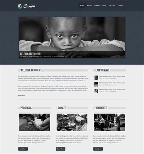 blogger templates for charity 20 charity blog themes templates free premium templates