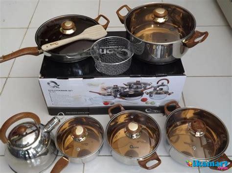 Panci Oxone Asli oxone asli panci eco cookware set ox 933 alat masak