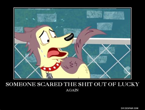 pound puppies lucky pound puppies lucky scared shitless again by boldcurriosity on deviantart