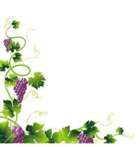 grape vine border clipart clipartsgram com