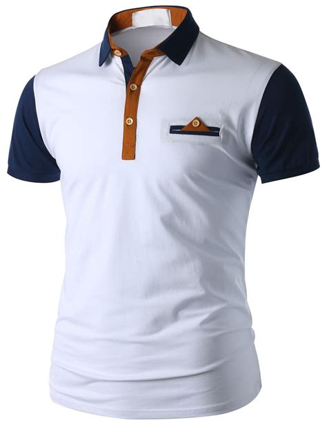 Kaos Kerah Polo Shirt Honda doublju s sleeve pocket polo shirt cmtts015