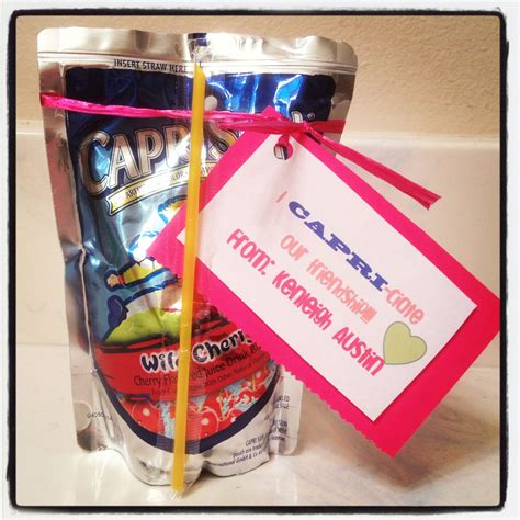 gift ideas for classmates i ciate our friendship sun easy