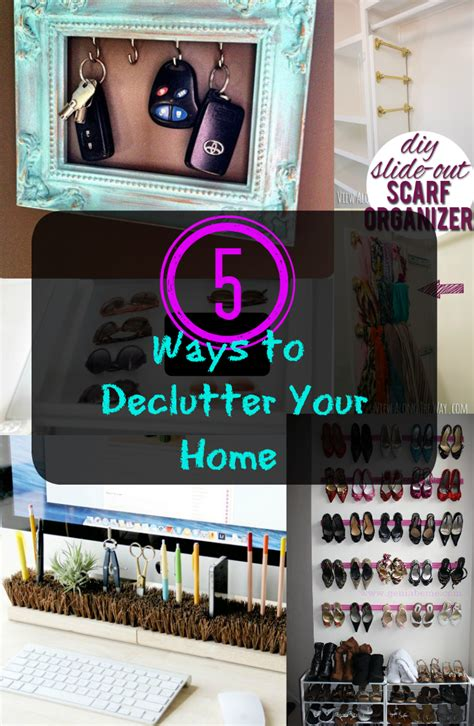 declutter your home 5 ways to declutter your home discountqueens com