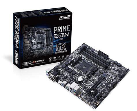 asus prime b350m a asus prime b350m a am4 m atx motherboard prime b350m a