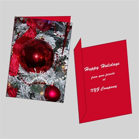 printable christmas cards one sided watkins printing side foldable 2 sided christmas cards
