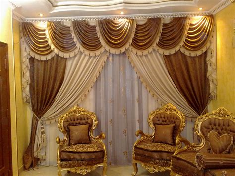 Luxurious living room curtains luxury curtain designs for small gold